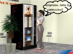 Espresso, latte, cappucino ASO Vending