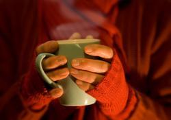 Káva v zime