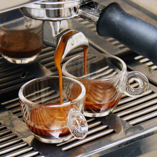 coffee preparing