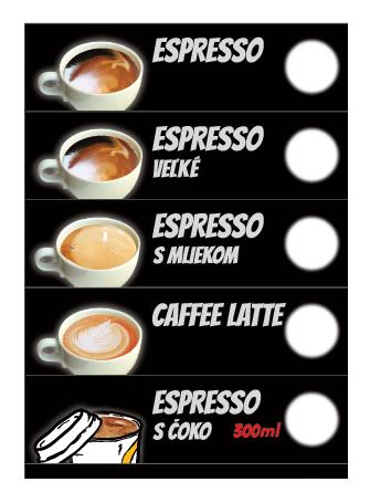 Espresso so sebou
